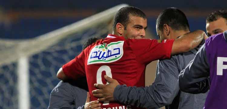 عماد متعب مهاجم النادي الأهلي