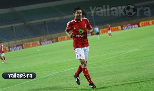 محمد بركات لاعب النادي الأهلي