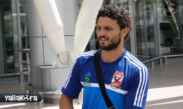 حسام غالي لاعب الأهلي