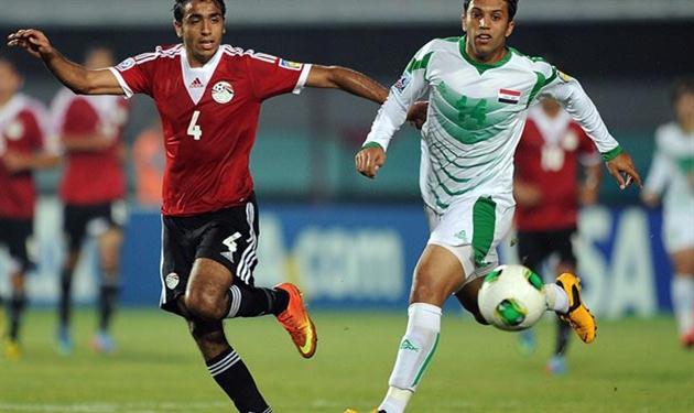 كهربا بقميص شباب مصر