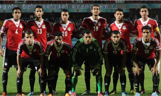 منتخب الشباب المصرى