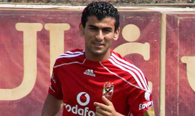 حسين غنيم لاعب الأهلي