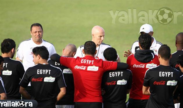 صورة أرشيفية من معسكر منتخب مصر