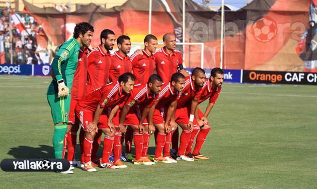 فريق النادي الأهلي في أخر مواجهاته أمام الزمالك