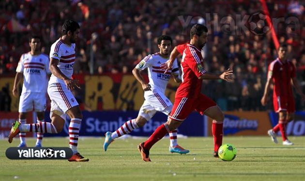 عبد السعيد في مباراة الزمالك الأخيرة