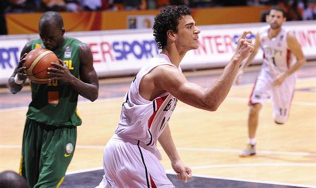 عاصم مرعي نجم منتخب السلة