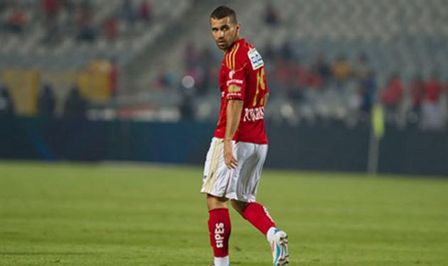 عبد الله السعيد سجل التعادل للأهلي من ركلة الجزاء