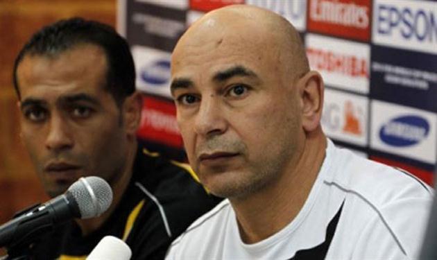 حسام حسن المدير الفني لمنتخب الأردن