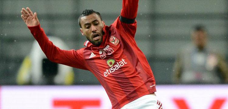 حسام عاشور لاعب الأهلي