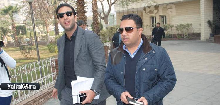 أحمد حسام ميدو المدير الفني للزمالك