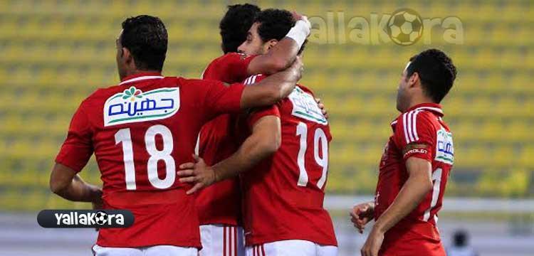 الأهلي يستعد لمواجهة الرجاء بالدوري المصري