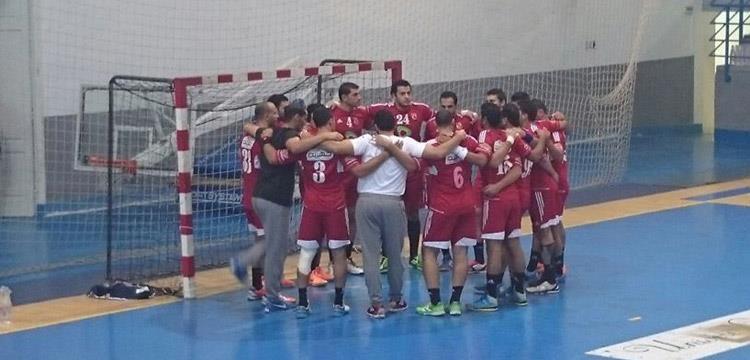 فريق الأهلي المشارك في البطولة الأفريقية بتونس