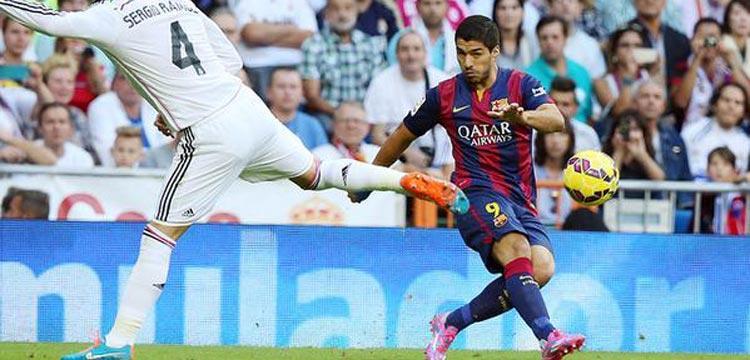 لويس سواريز لاعب برشلونة الإسباني
