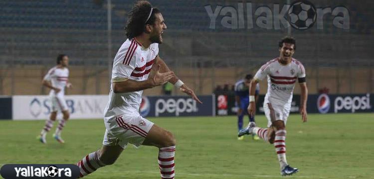 باسم مرسي سجل الهدف الثاني لفريقه