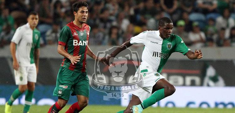 محمد إبراهيم لاعب فريق ماريتيمو البرتغالي