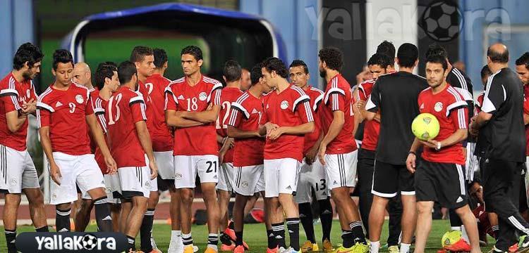 حذر وترقب في تدريبات منتخب مصر