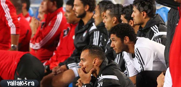 دكة مصر أمام السنغال