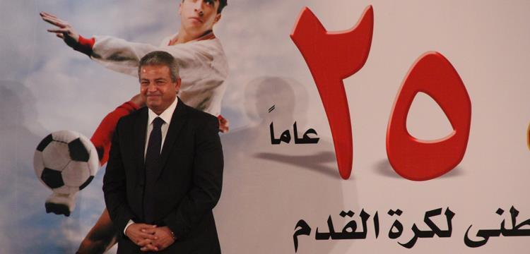 خالد عبد العزيز وزير الرياضة المصري