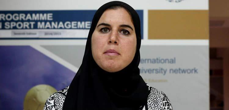 صفية عبد الدايم أحد خريجي دبلومة الإدارة الرياضية