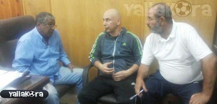 حسام حسن ورئيس قطاع الناشئين بالاتحاد