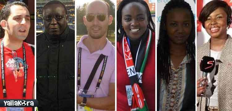 صحفيين افريقيا