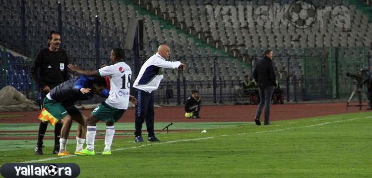 حسام وجاريدو في المباراة