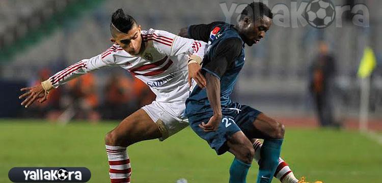 أحمد سمير في مباراة انبي