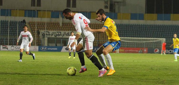 خالد قمر في مباراة الإسماعيلي