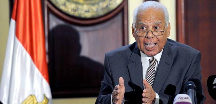 حازم الببلاوي رئيس مجلس الوزراء