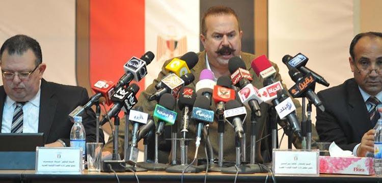 خالد زين رئيس اللجنة الاوليمبية المصرية