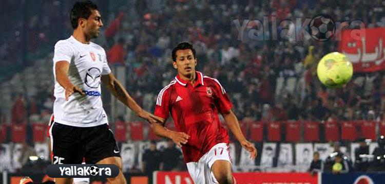 عمرو جمال لاعب الأهلي - صورة أرشيفية
