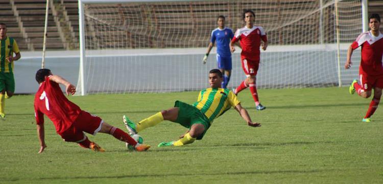 أحمد عبد الظاهر مع فريق الاتحاد الليبي