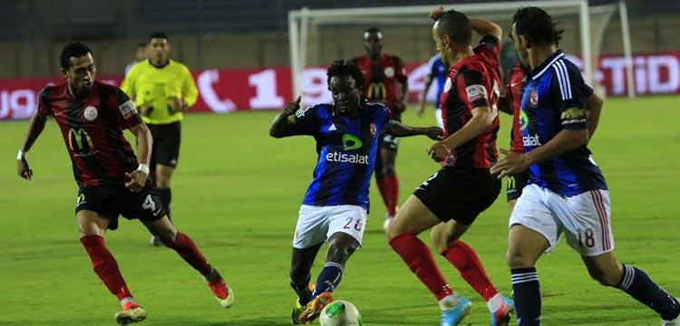 من مباراة الأهلي وأهلى بنغازي