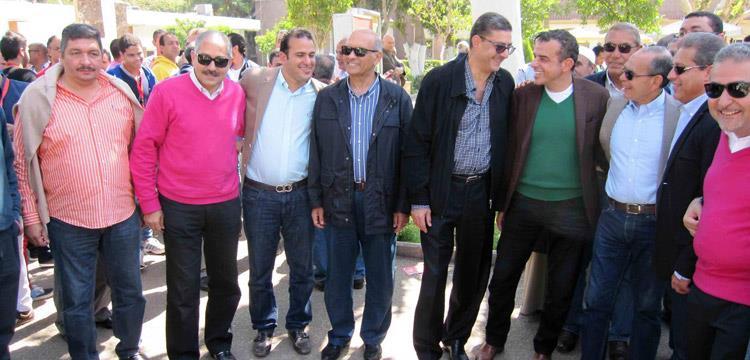 خالد الدرندلي وخالد مرتجي يدعمون محمود طاهر