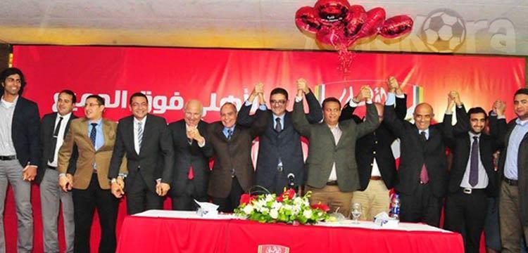 مجلس محمود طاهر ينجح بنسبة 100%