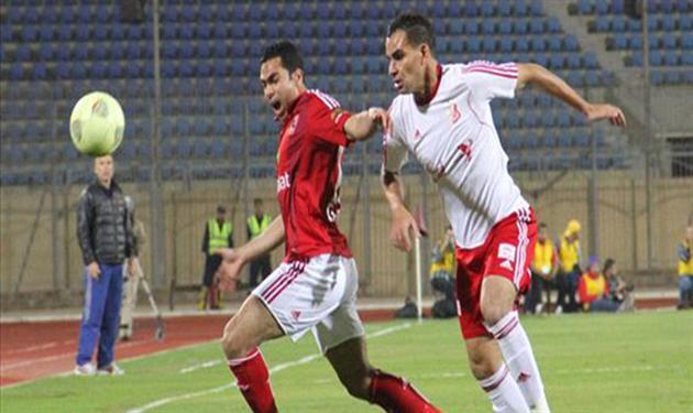أحمد فتحي في مباراة أهلي بنغازي