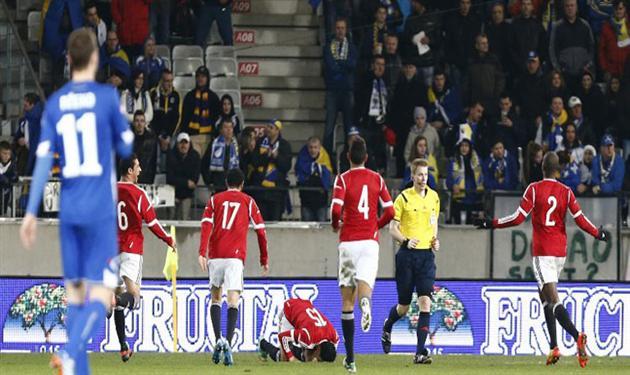 منتخب مصر أمام البوسنة