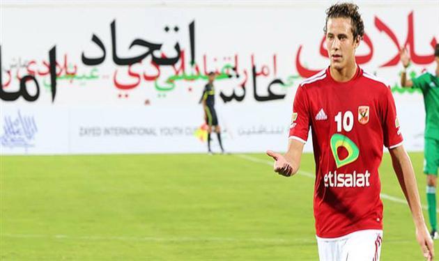 رمضان صبحي لاعب منتخب الشباب
