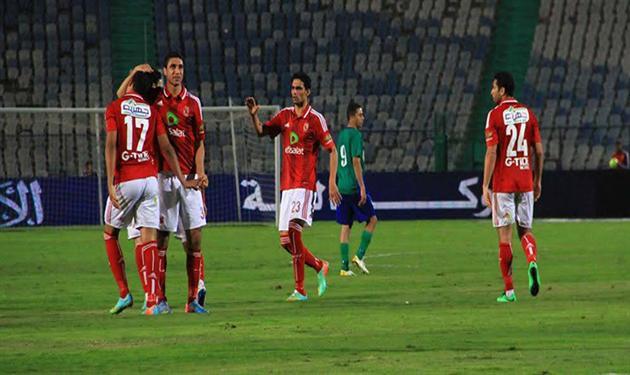 الأهلي أمام مصر المقاصة