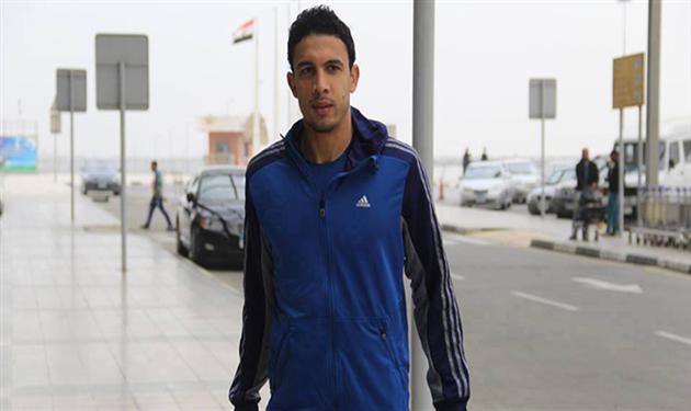 محمد ناجي جدو لاعب الأهلي