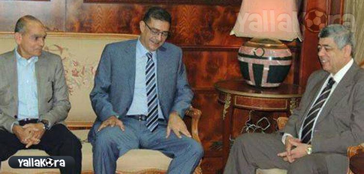 محمود طاهر مع محمد إبراهيم