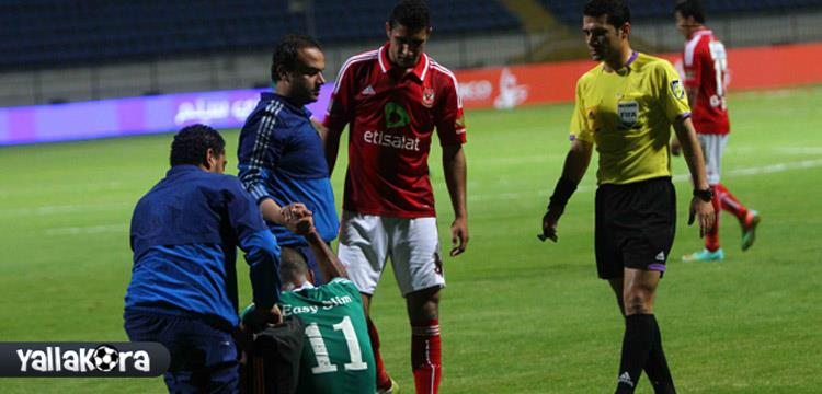احمد شرويدة لاعب الاتحاد السكندري السابق - صورة أرشيفية