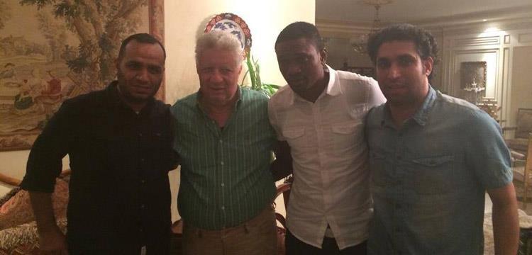 مرتضى منصور بعد التوقيع مع معروف يوسف