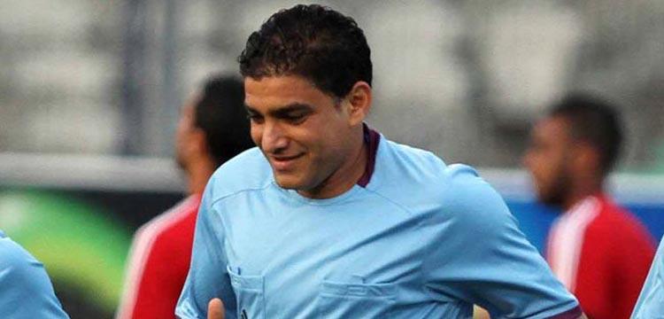 إبراهيم نور الدين حكم مباراة القمة