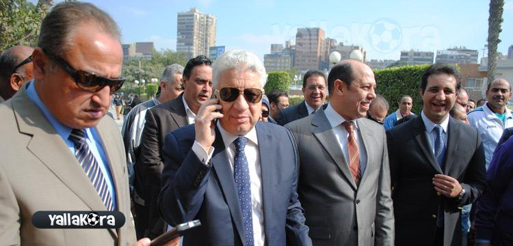 مرتضى منصور وأعضاء مجلس الإدارة