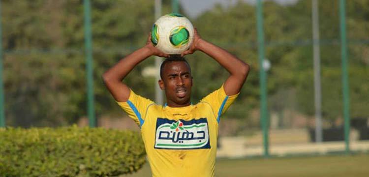 صالح موسى لاعب الاسماعيلي المنتقل للزمالك