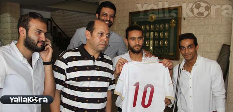 باسم مرسي بقميص الزمالك