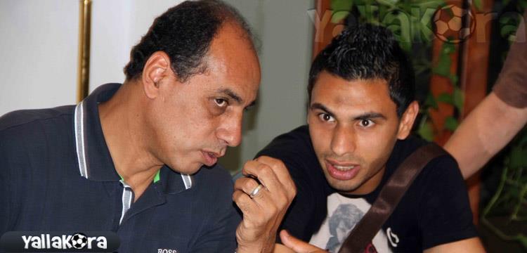 محمد رزق لاعب الأهلي