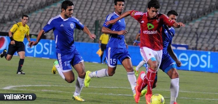 محمود حسن تريزيجيه لاعب الأهلي