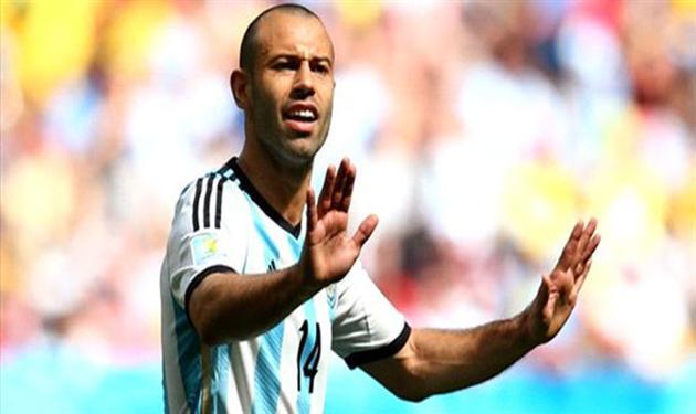 ماسيكرانو لاعب الأرجنتين وبرشلونة